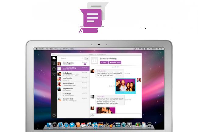 Скачать Viber для iOS / OSX