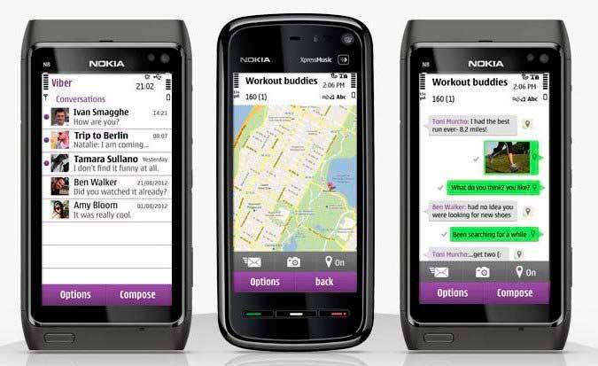Скачать Viber на Nokia бесплатно