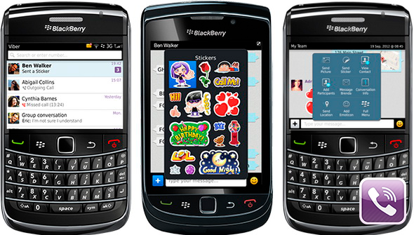 Скачать viber для blackberry