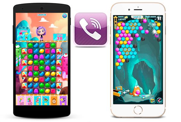 Viber Candy Mania – увлекательная игра про охоту за конфетками