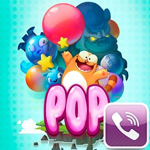 Viber Pop – отличная игра для приложения на Android