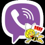 Maya the Bee — пчелка мая в стикерах Viber